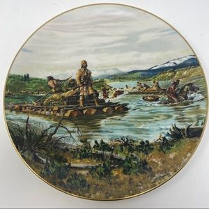 GORHAM The Lewis Crossing Collector Plate